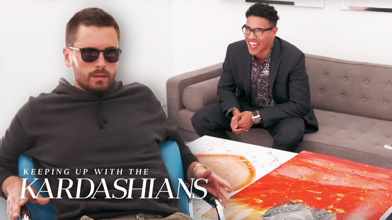 Scott Disick Is Shocked By How Much Khloe's Art Is Worth | KUWTK | E!