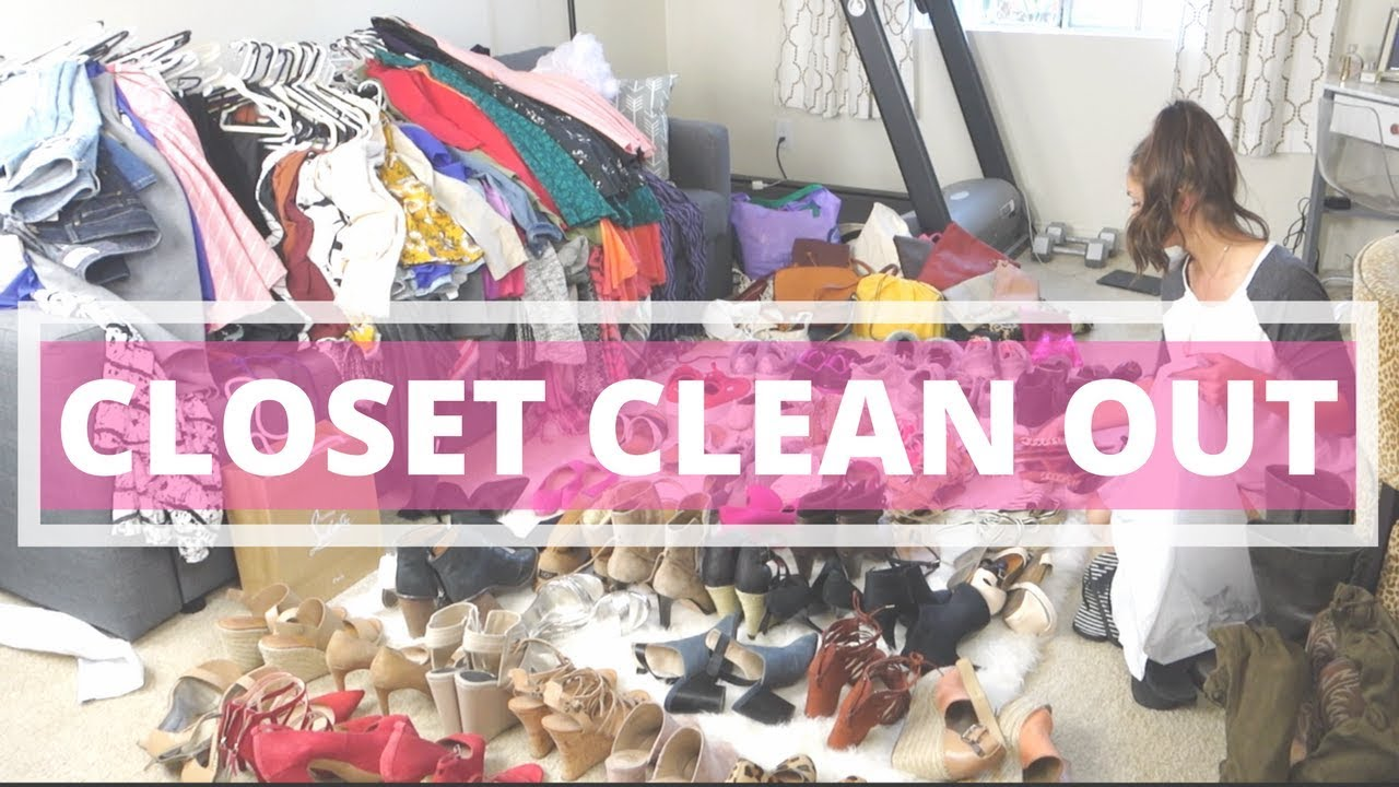 Beautiful CLOSET MAKEOVER | HOW TO: REORGANIZE U0026 CLEAN OUT YOUR CLOSET!