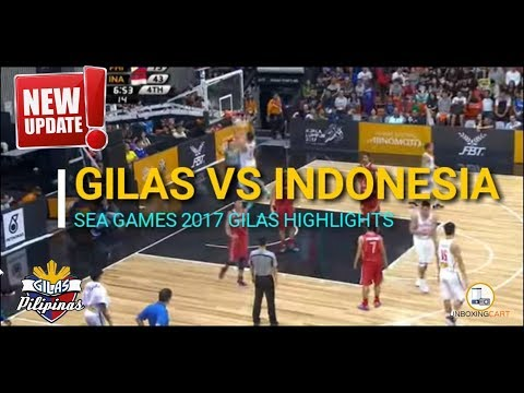 Gilas SEA Games Champions!  Philippines vs Indonesia Final Game Highlights