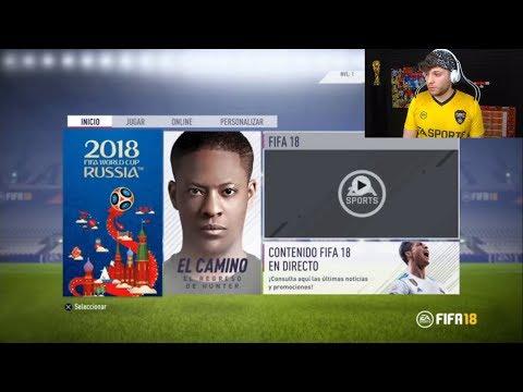 ESPERANDO LA ACTUALIZACIÓN FIFA WORLD CUP 2018 | FIFA 18