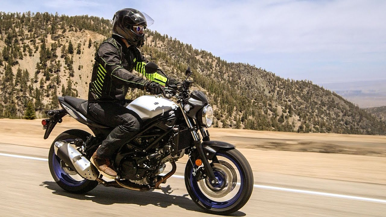 Suzuki Sv650 First Ride Review At Revzilla Com Youtube