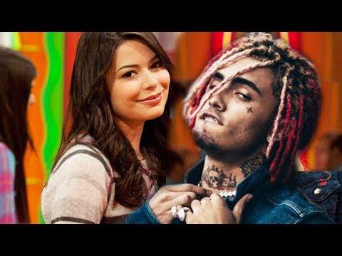 Drake helps Lil Pump Smash ICarly aka Megan Parker From Nickelodeon