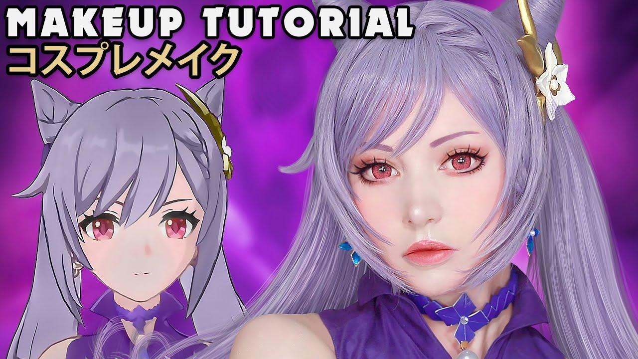 ☆ Keqing Cosplay Makeup Tutorial Honkai X Genshin Impact 崩壊3rd X 原神 ☆