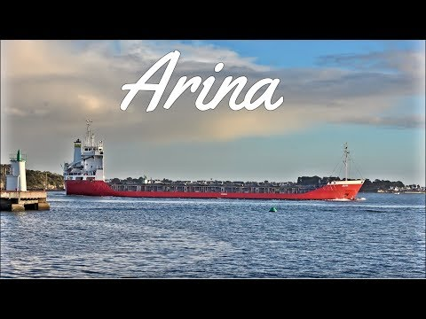 General Cargo Ship ; Arina ; Kéroman ; Port de pêche ; Bretagne ; France