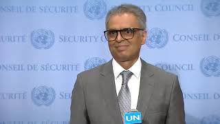 Syed Akbaruddin Addressing Press After UN Consultative Meeting on Kashmir