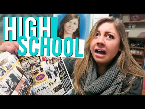 HAUNTED BY MY HIGH SCHOOL YEARBOOK | Vlogmas 18, 2016