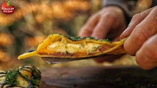 TRIPLE CHEESE FOREST MADE RAVIOLI! - DON'T MISS