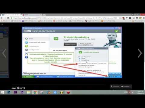 Crack Permanente Full de ESET NOD32 y Smart Security Antivirus 5, 6,7,8 y 9 DE POR VIDA