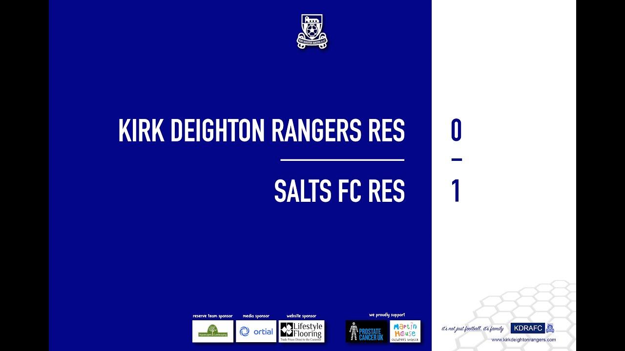 Salts FC Res Match Highlights