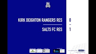 Salts FC Res Match Highlights