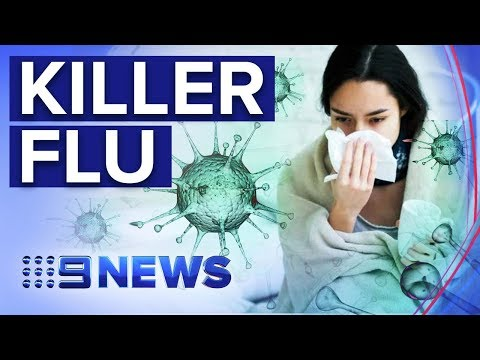 How To Protect Yourself As Deadly Flu Surges | Nine News Australia