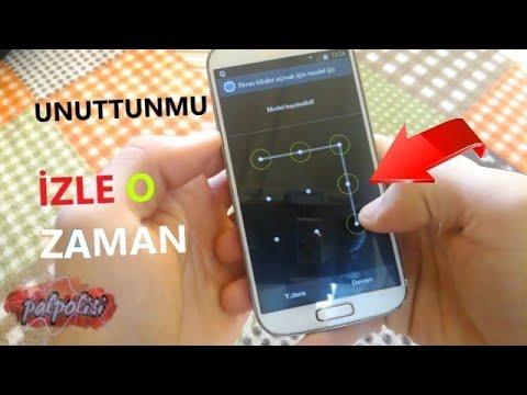 TELEFONDA UNUTULAN DESEN ŞİFRESİ NASIL AÇILIR