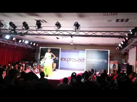 Catwalking at Expressions of Accra