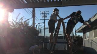 WWE - Ladder Match - Intercontinental Championship - BNB vs. Luke Harper vs. Dolph Ziggler (Tramp.)