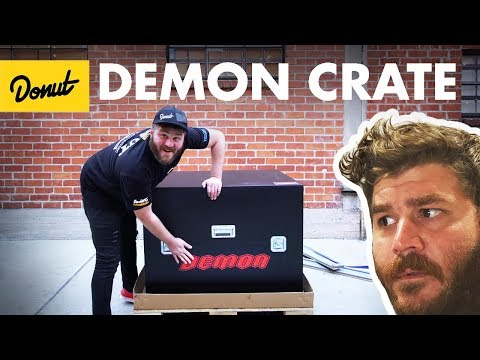 Dodge Demon Crate Unboxing!   The New Car Show