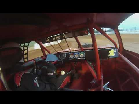 STREET STOCK HOT LAPS JAMIE WHITT CLAY VALLEY SPEEDWAY 3-30-2019. - dirt track racing video image