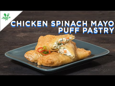 Resep Chicken Spinach Mayo Puff Pastry