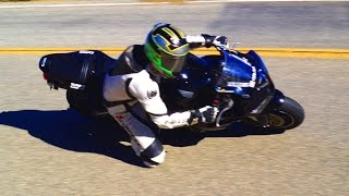 Sportbike Supermoto Aerials at the Snake Mulholland Hwy TBS FPV DragonLink