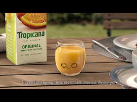 Tropicana 'Little Glass' TV Commercial