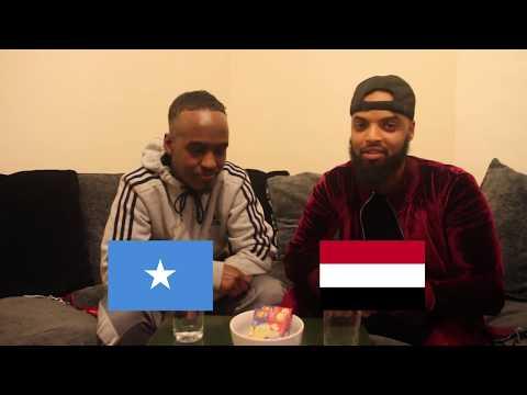 HILARIOUS SOMALI & ARABIC LANGUAGE CHALLENGE WITH YARKA SANADKA (BEAN BOOZLED FORFEIT)