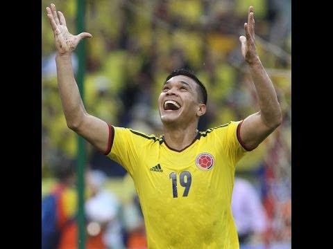 Todos los Goles de Teo Gutierrez Seleccion Colombia Eliminatorias Mundial Brasil 2014