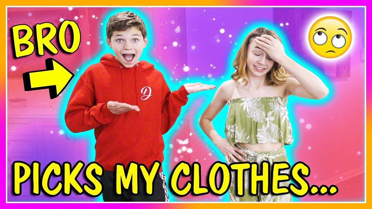 BROTHER BUYS MY SPRING OUTFITS!   We Are The Davises 3