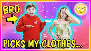 BROTHER BUYS MY SPRING OUTFITS! | We Are The Davises