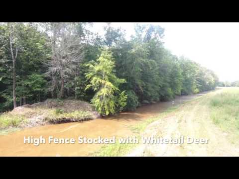 Columbia, Louisiana High Fence Property For Sale