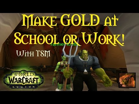 WoW [Gold Guide] Make Gold While You're at Work or School with TSM