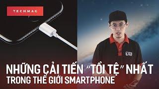 """TechBack: Những cải tiến """"tồi tệ"""" nhất trong thế giới smartphone"""