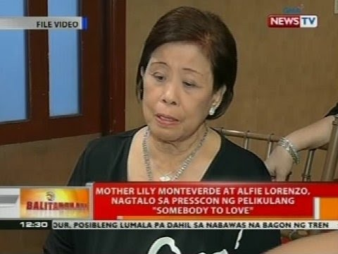 Mother Lily Monteverde at Alfie Lorenzo, nagtalo sa presscon ng pelikulang 'Somebody to Love'
