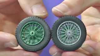 How to make a metal-tension spoke wheel - Great Guide Plastic Models