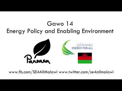 Pansasa - Season 1 Episode 14 - Energy Policy and Enabling Environment (Chichewa version)