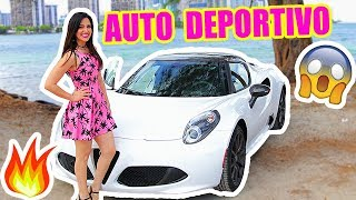 UN AUTO QUE VUELA! ALFA ROMEO 4C SPIDER - Auto Deportivo Italiano ft Al Vazquez - SandraCiresArt