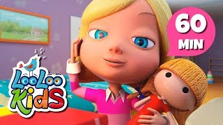 Video Miss Polly Had a Dolly - Amazing Songs for Children | LooLoo Kids download MP3, 3GP, MP4, WEBM, AVI, FLV Desember 2017