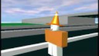 Roblox: SmileDude's traffic cone