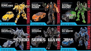Transformers Studio Series Wave 3 And 4 Revealed!