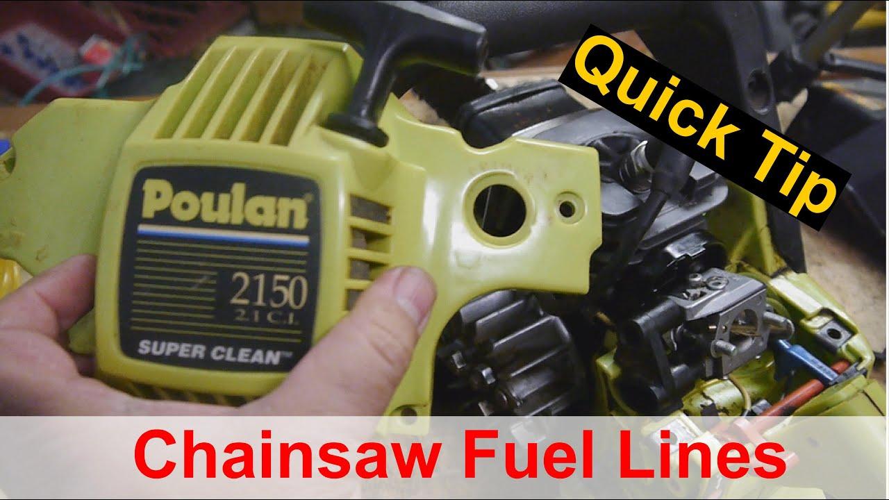 Poulan 2150 Chainsaw Fuel Line