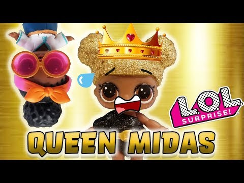 LOL Surprise Dolls Perform King Midas! Starring Queen Bee, Foxy, Madam Queen, and Lil Court Champ!