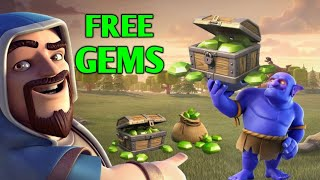 How to get free gems in clash of clans | 100% working |