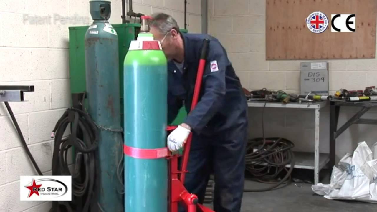 Argonlifter To Lift Heavy Gas Cylinders Onto Your Welding