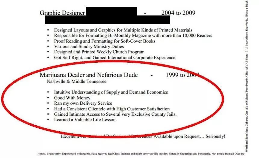 The Most Hilarious Resume Fails to Ever Happen - YouTube