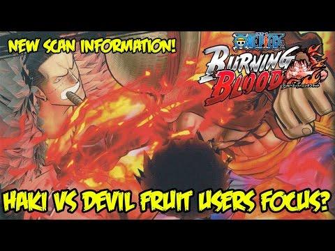 one-piece-burning-blood:-new-scan-reveals-haki-vs-devil-fruit-user-battle-system!