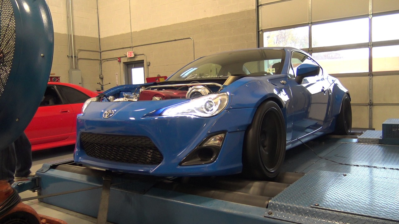 Dyno Tuning an AWD Scion FRS with a RB26 – Engine Swap Depot