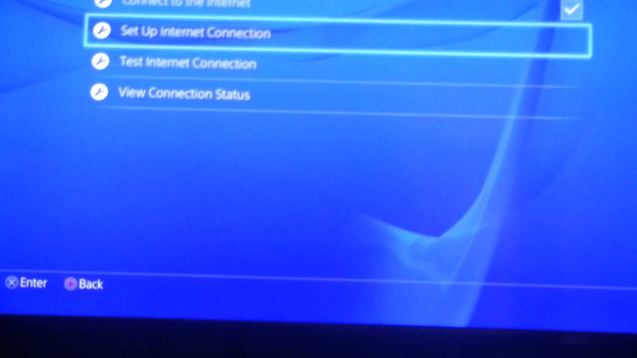 How to connect phones WiFi to ps4