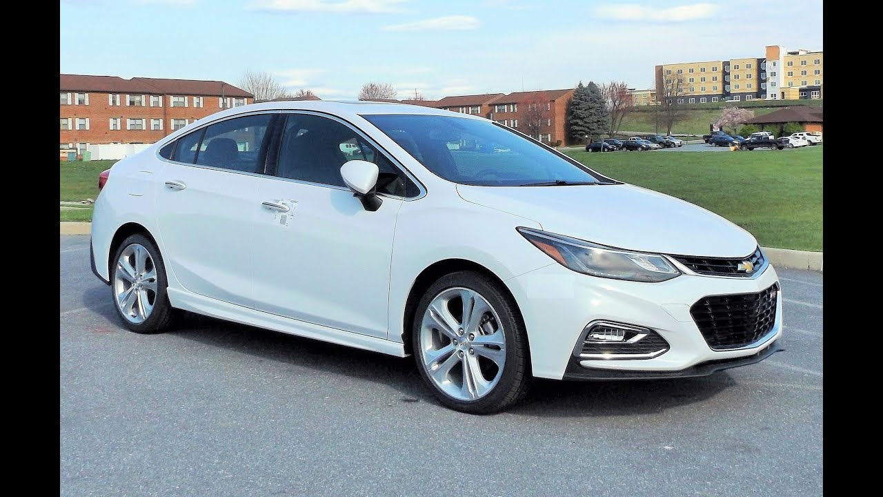 2016 Chevrolet Cruze Premier >> 2016 Chevy Cruze Premier Rs Start Up Full Tour And Review