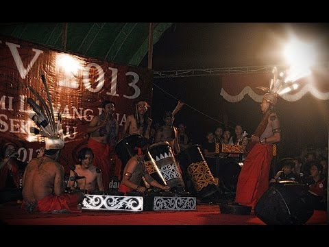 Puyang Gana [ Indonesia Ethnic Percussion ] World Music From West Borneo
