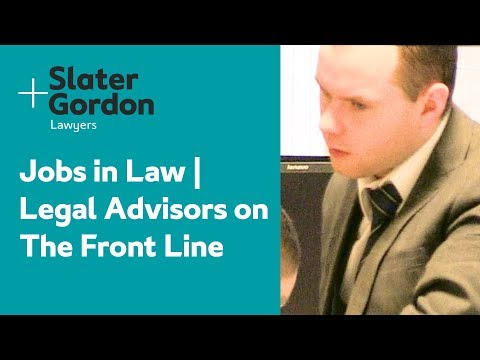 Jobs in Law | Legal Advisors on The Front Line