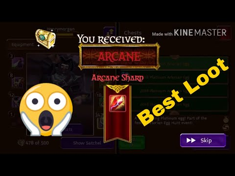 Arcane Legends Opening 24 Arlor Platinum Egg 2018