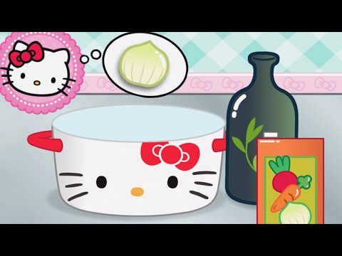 Thumbnail: Baby Learn Cooking - Kids Fun Play Hello Kitty Lunchbox | Children Play Fun Kitchen Kids Game
